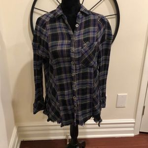 High low super soft flannel